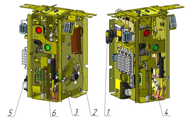Вакуумный выключатель ВВУ-СЭЩ-П9-6
